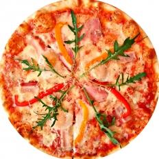 Заказать доставка пицца с беконом Карбонара в Буча, Ирпень, Гостомель, Ворзель