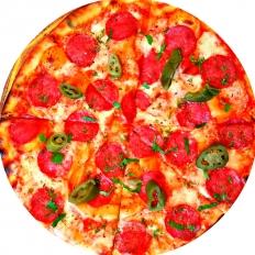 Заказать доставка пицца с колбасой Пепперони в Буча, Ирпень, Гостомель, Ворзель