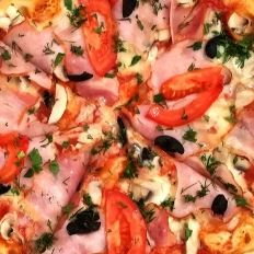 Заказать доставка пицца с колбасой сытная в Буча, Ирпень, Гостомель, Ворзель