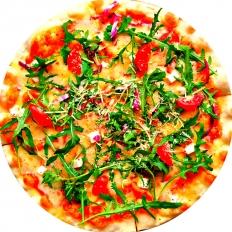 Заказать доставку Рукколы Вегетарианской пиццы в Буча, Ирпень, Гостомель, Ворзель