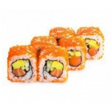 Доставка суши Калифорния с лососем в тобико, Буча, Ирпень, Гостомель, Ворзель