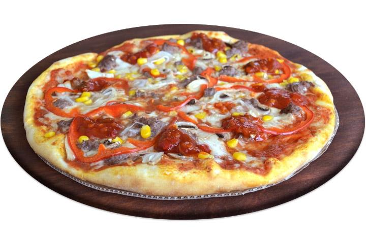 Заказ и Доставка пиццы с мясным фаршем Буча, Ирпень, Гостомель, Ворзель, пригороды