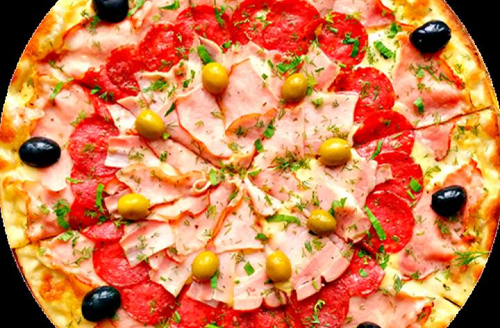 Заказать пиццу в Буче. Фирменная пицца Dr.Hunger