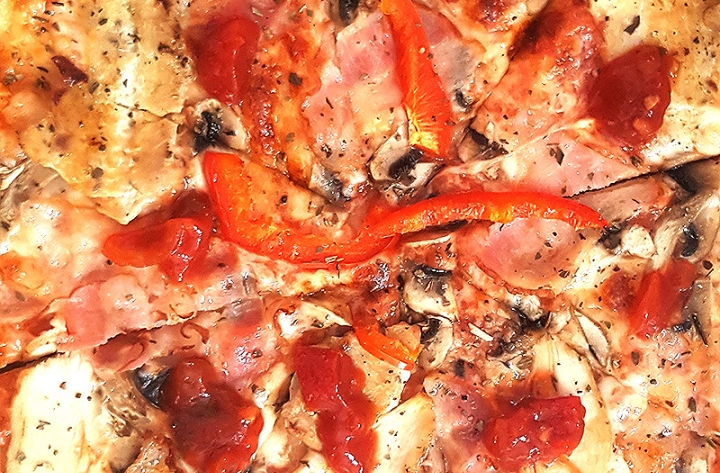Заказать доставка пицца с колбасой Барбекю в Буча, Ирпень, Гостомель, Ворзель