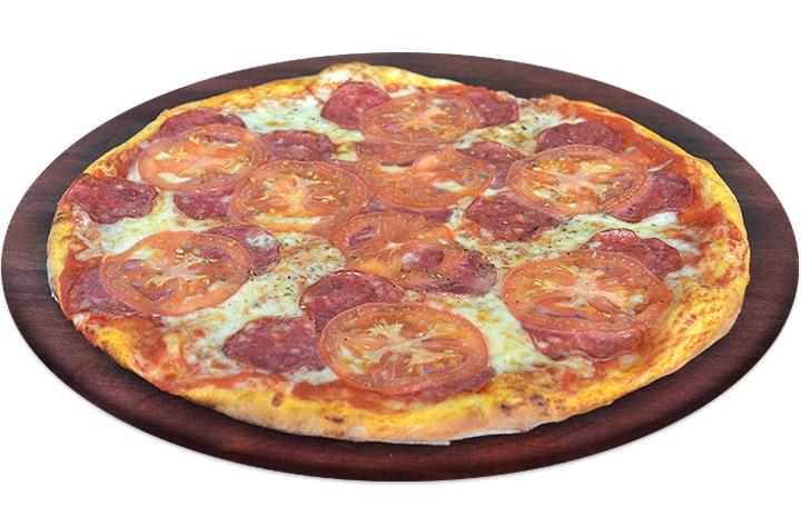 Заказать доставка пицца с колбасой салями в Буча, Ирпень, Гостомель, Ворзель