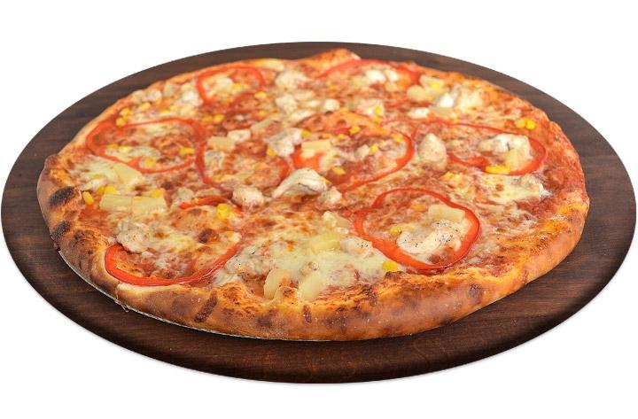Пицца со свежим мясом Гавайская Буча Ирпень Гостомель Ворзель Доставка пиццы